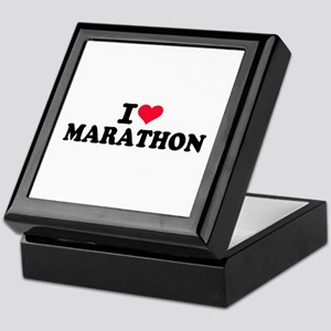 I love Marathon Keepsake Box